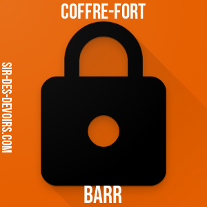 Coffre-fort Barr